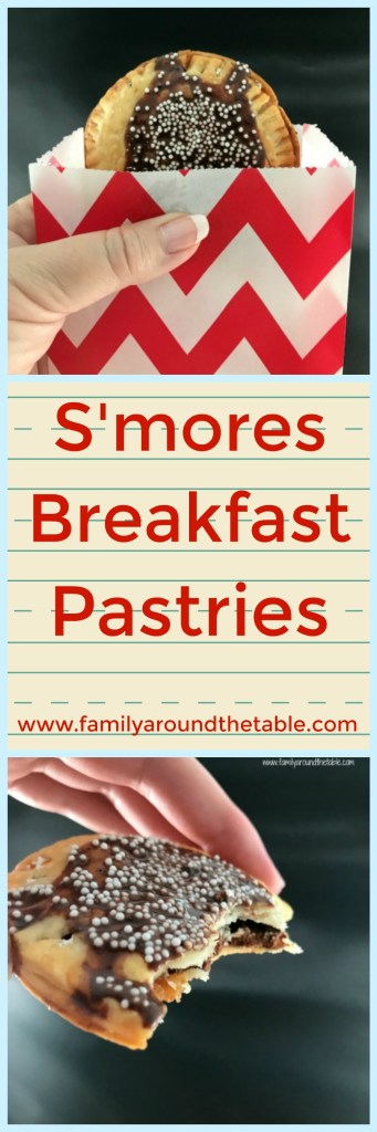 You may want to make a double batch of s'mores breakfast pastries. They're that good! #Backtoschooltreats #ad