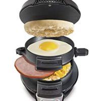 Hamilton Beach Breakfast Electric Sandwich Maker, Black