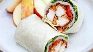 Crispy Chicken Club Wrap