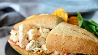 Thai-Style Shrimp Salad Sandwiches
