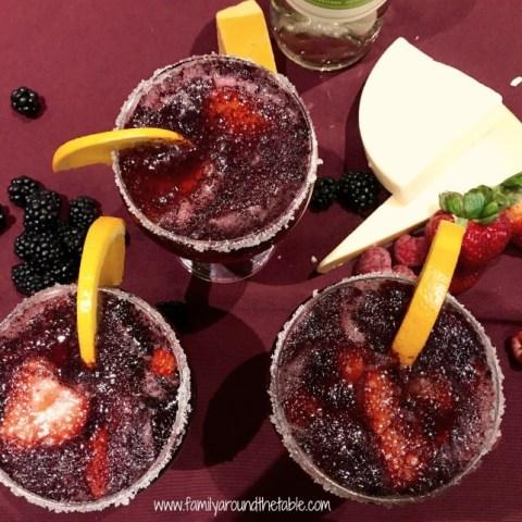 Blackberry Wine Sparkler
