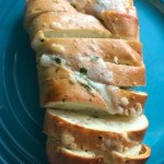 Easy Swiss cheese bread makes a great side dish.