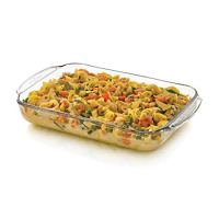 Libbey Baker's Basics Glass Casserole Baking Dish, 9-inch by 13-inch