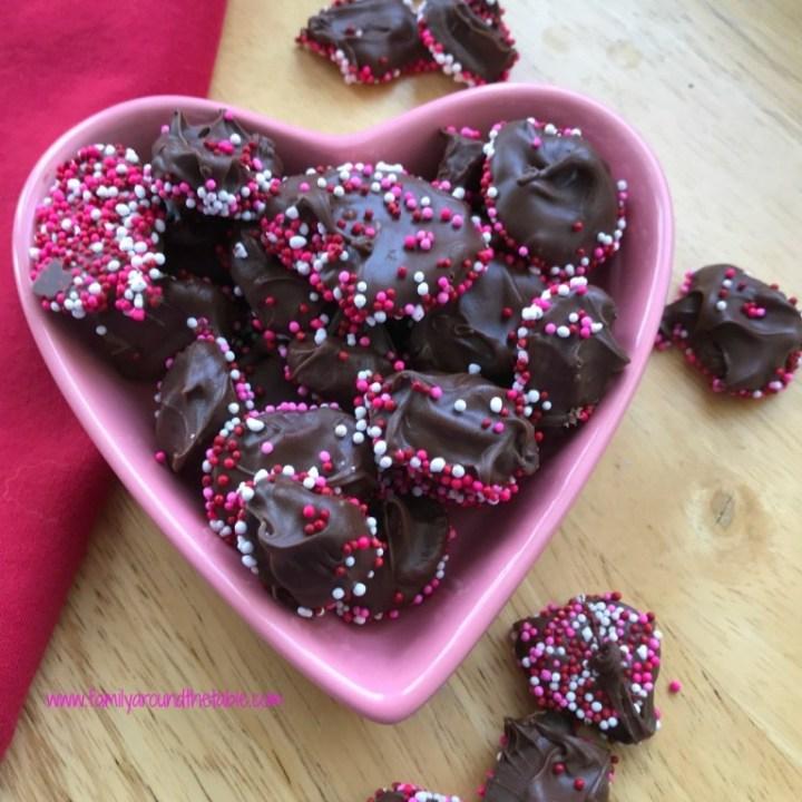 Chocolate Nonpareil Drops