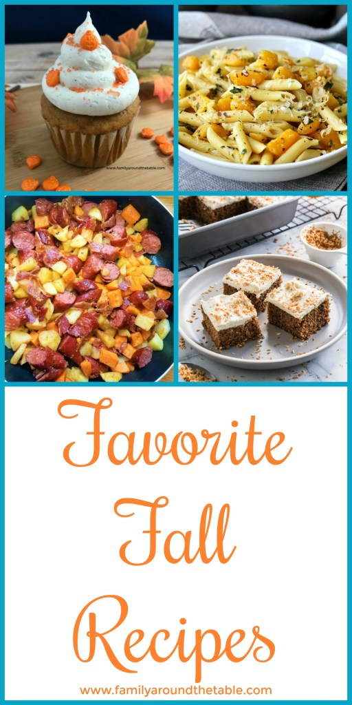 Find favorite fall recipes for meals, desserts and drinks in this collection. #FallFlavors