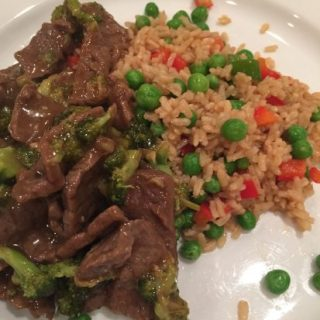 Homemade Chinese Takeout – Beef and Broccoli