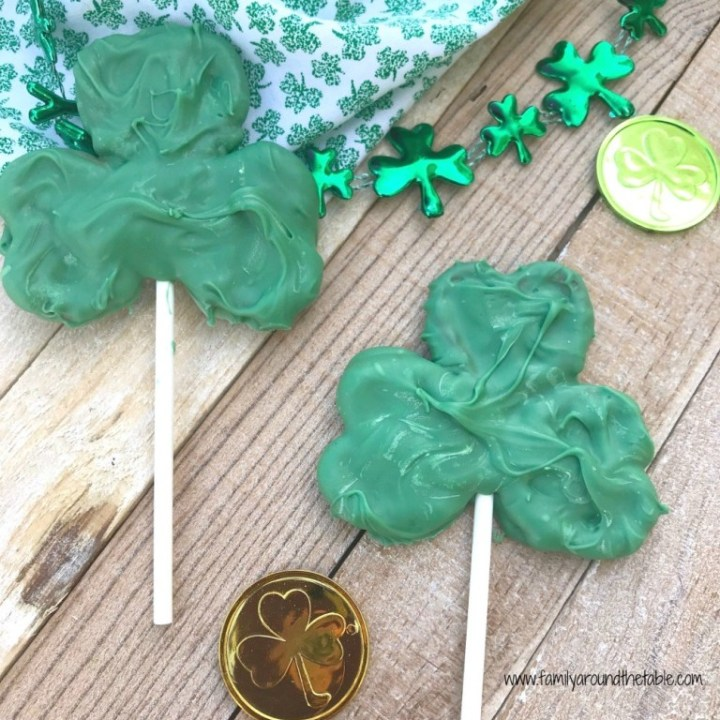 Pretzel Shamrocks