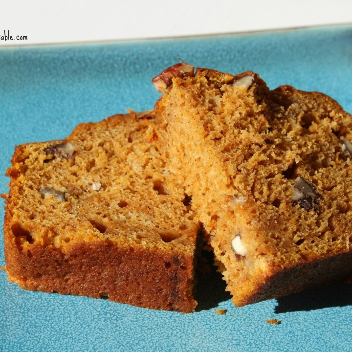 Gigi's Spiced Pumpkin Pecan Bread