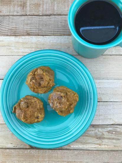 Praline Pumpkin Spice Mini Muffins