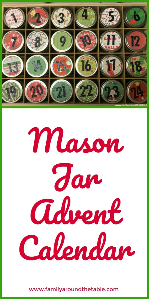 This mason jar advent calendar is a cute way to celebrate the season. #12DaysChristmas