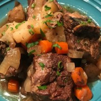 Beef Short Ribs with Vegetables