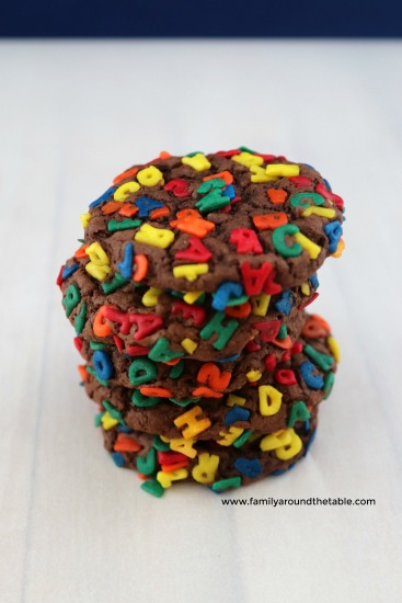 Teachers are sure to love these ABC sprinkles.
