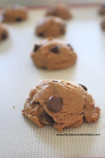 Gluten free and melt in your mouth good, these peanut butter truffle cookies won't last long!