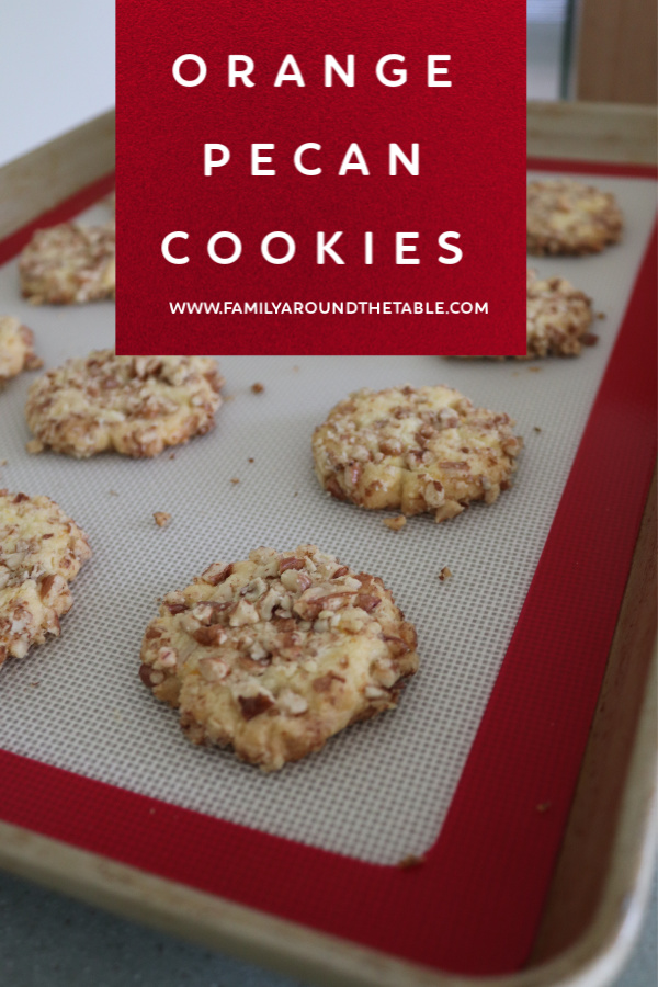 Orange Pecan Cookies are a delightful change from classic cookies. A burst of orange flavor and crunch from delicious pecans.