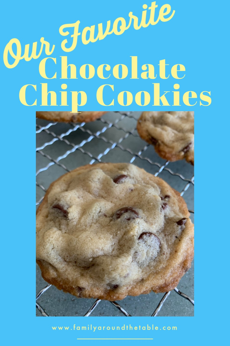 Chocolate Chip Cookies Pinterest Image