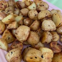 Roasted Potatoes with Lemon and Garlic