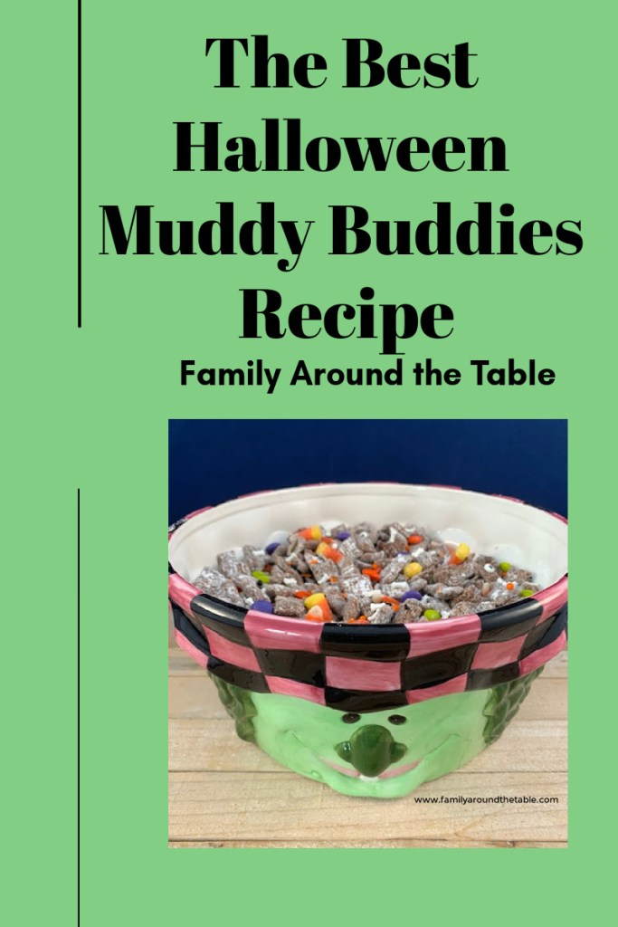 Halloween Muddy Buddies Pinterest Image