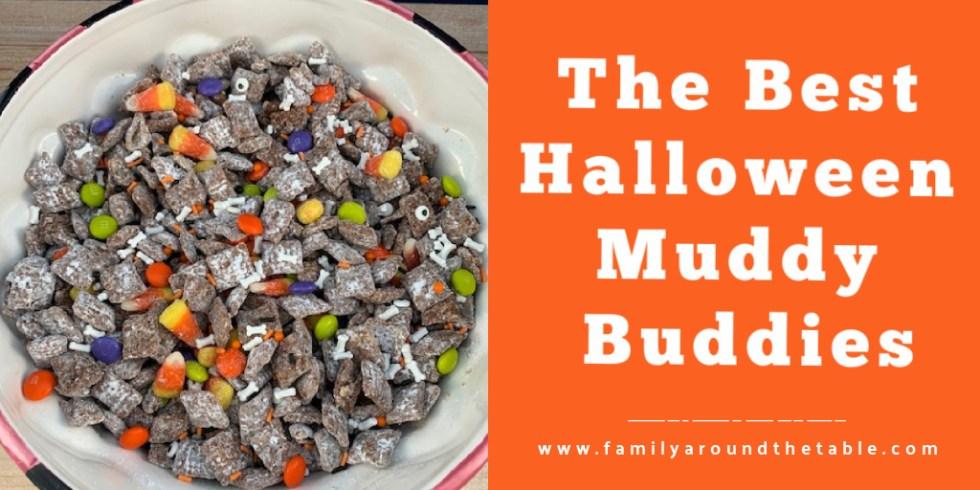 Halloween Muddy Buddies Twitter image.