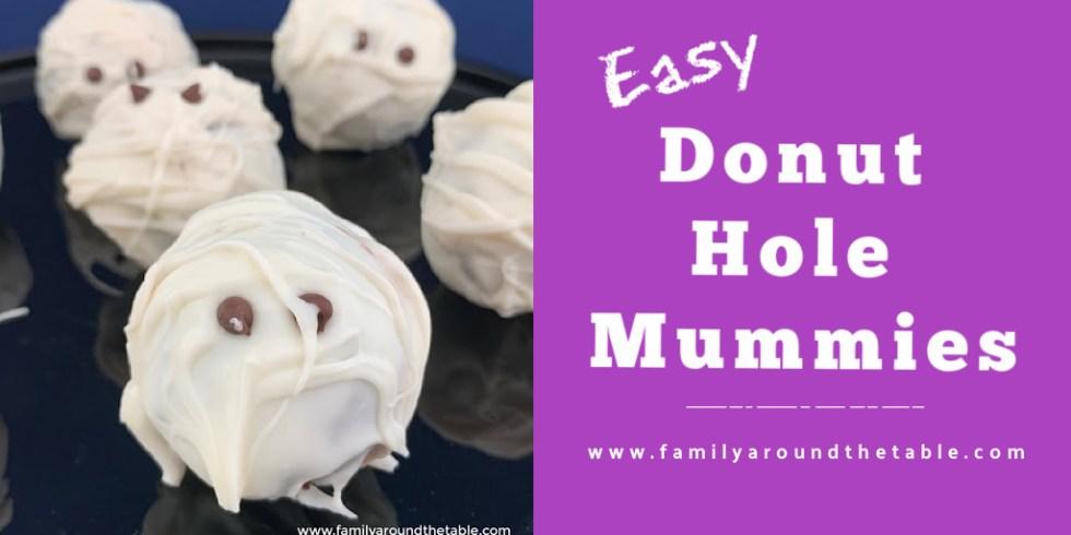 Donut Hole Mummies Twitter image.