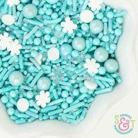 Snow Storm Sprinkles Mix - Christmas Sprinkles - Winter Sprinkles