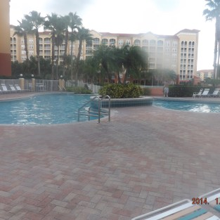 4 ft. outdoor pool