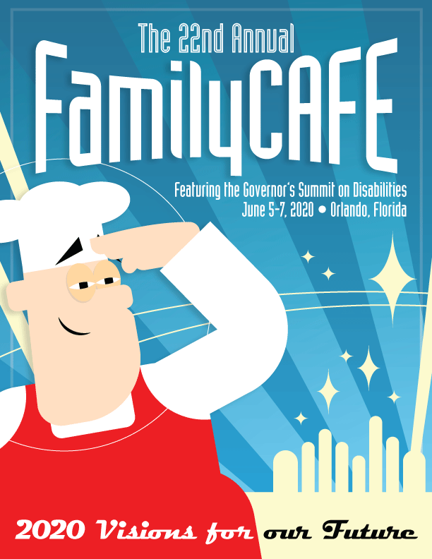 Family Cafe Poster with Event Information