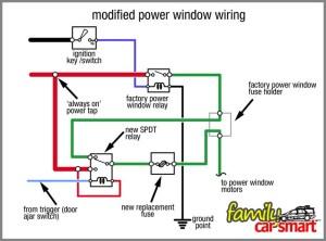 Power Window Wiring Diagram  Somurich