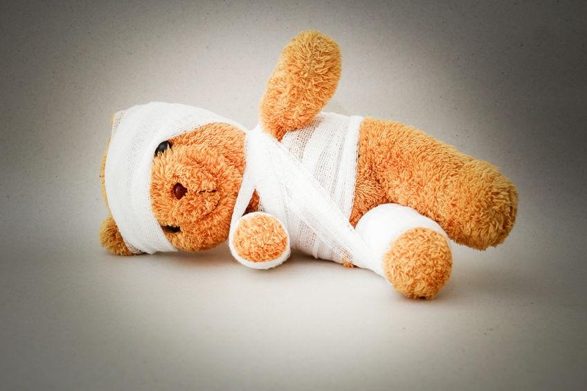 bear with trauma