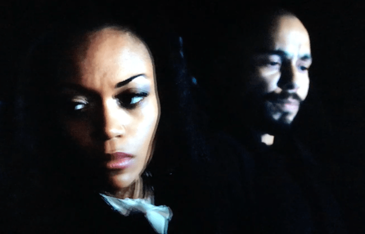 Mishael Morgan and Bryton James - american actors