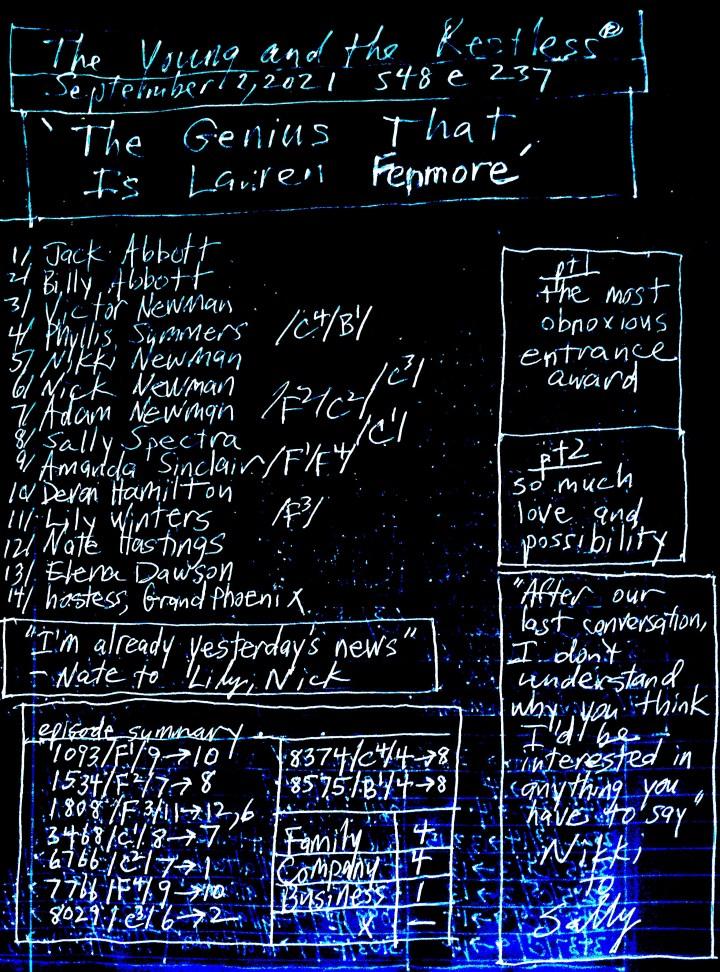 ['The Genius That Is Lauren Fenmore']