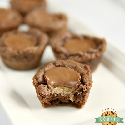 REESE'S CHOCOLATE COOKIE CUPS