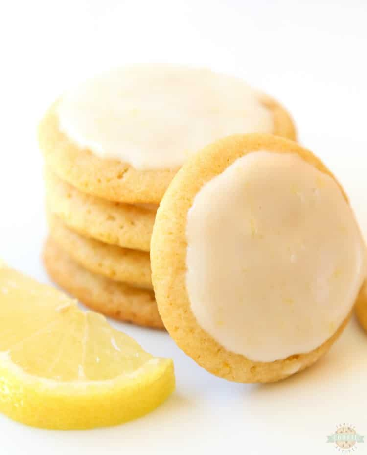 Glazed Lemon Cookiesis one of my favorite butter cookie recipesand lemon desserts! Every time I make them I'm surprised at just how GOOD theselemon cookiestaste.