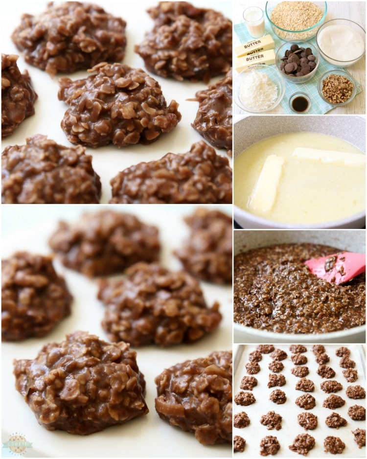 How to make no bake cookies recipe