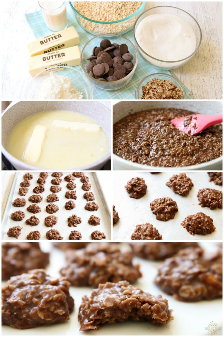 How to make no bake cookies