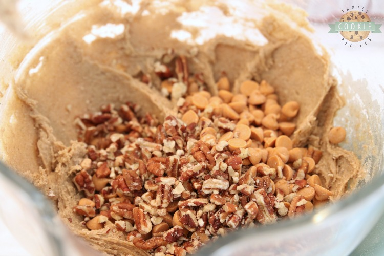 caramel pecan spice cake mix cookie ingredients