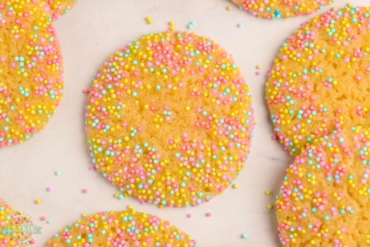 how to make Sprinkle Cookies