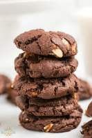 how to make Chocolate Cake Mix Cookies