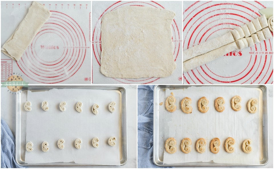 How to make Easy Palmiers recipe