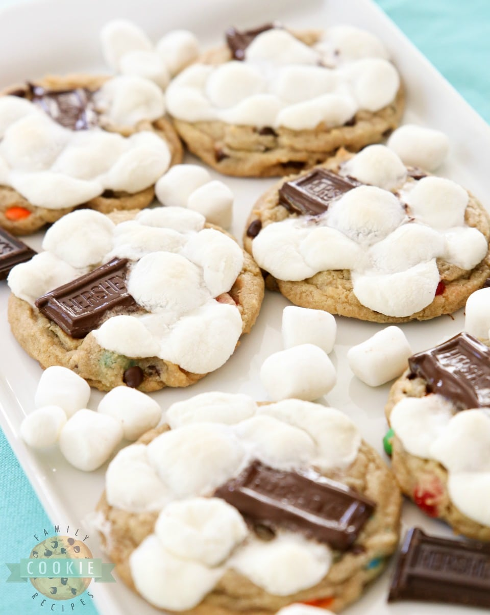 S'Mores Chocolate Chip Cookie Recipe