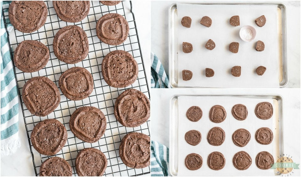 How to make Salted Chocolate Shortbread Cookies recipe