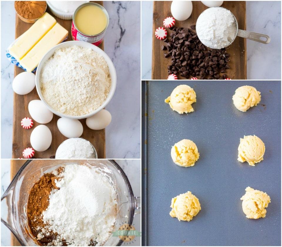 How to make Peppermint Fudge Sugar Cookie recipe