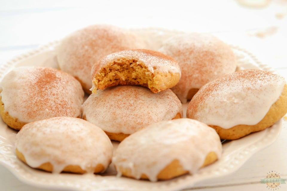 iced Cinnamon Pumpkin Cookies recipe