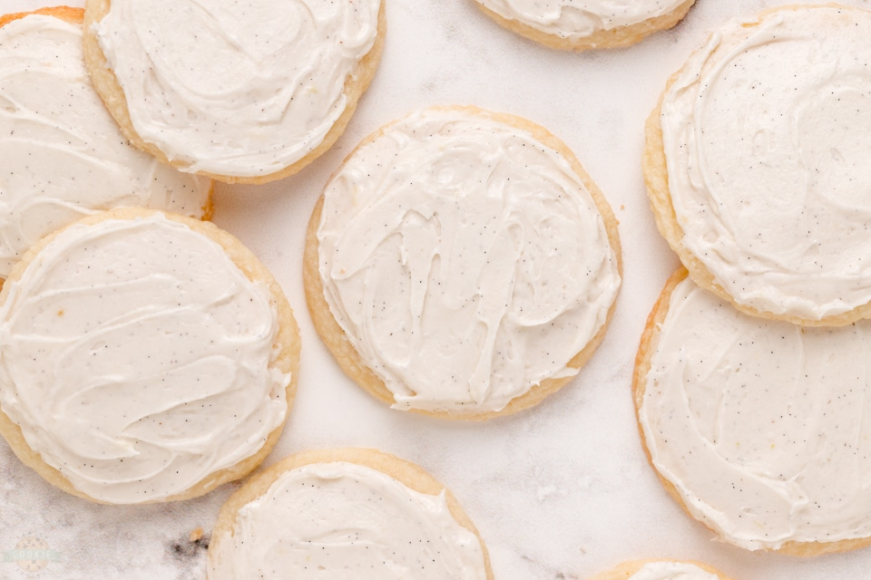 Vanilla Meltaway Cookies recipe
