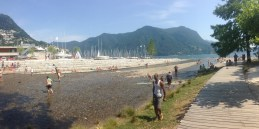 Parco Ciani - Board Walk and rivier.