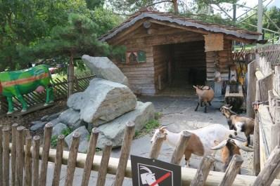 Heidi Land - Gas Station A13 - Goat farm
