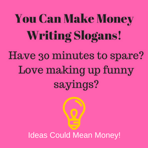 Write Slogans for Money
