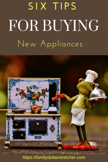 Tips for buying appliances