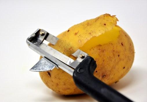 potato peelings