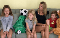 Momprenuer Series: Buddy Bagz Founder Carly Drum-O'Neill & Family
