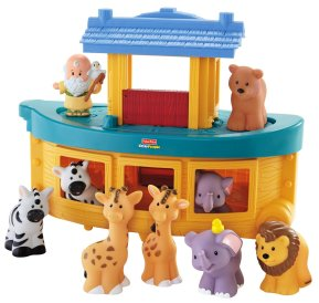 Gifts For Toddlers - Fisher-Price Little People Noah's Ark